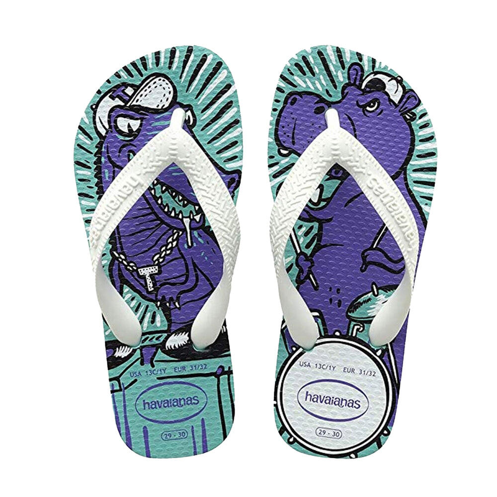 Kids Radical Flip Flops Lake Green