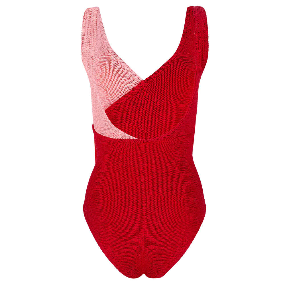 Kerry One Piece Red/Peach