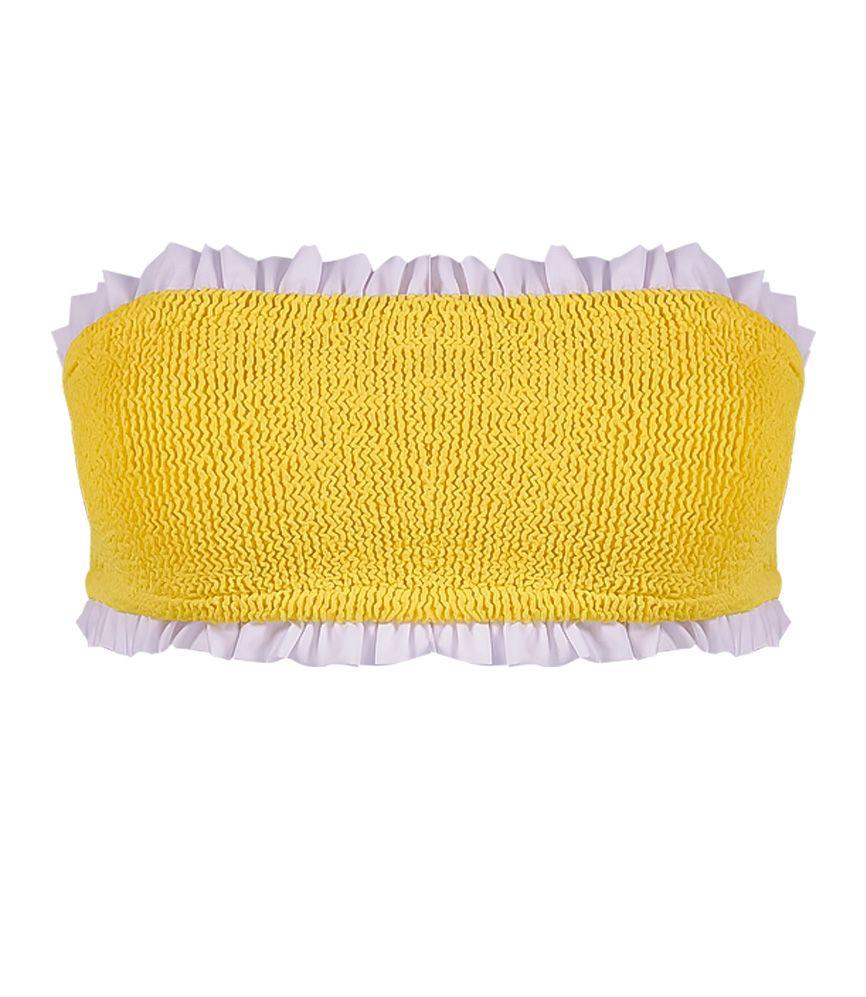 Hunza G Tracey Bikini Yellow