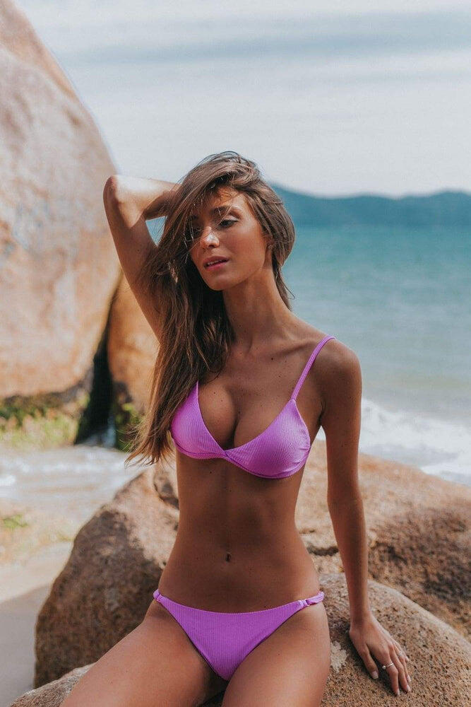 Triangle Top Liberty Purple
