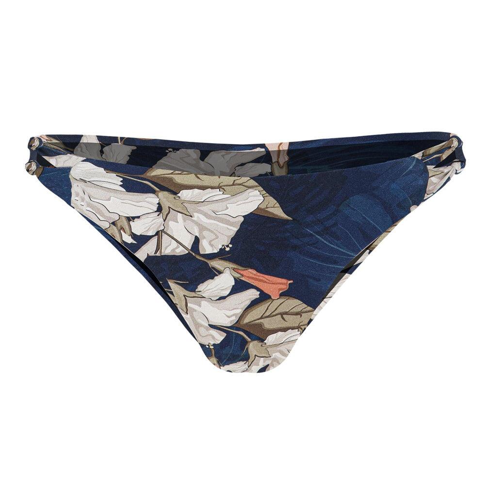 High Cut Knot Bikini Bottom Capri