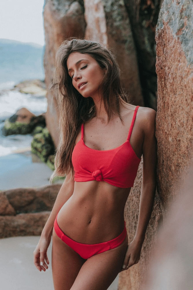 Tabata Bikini Bottoms Red