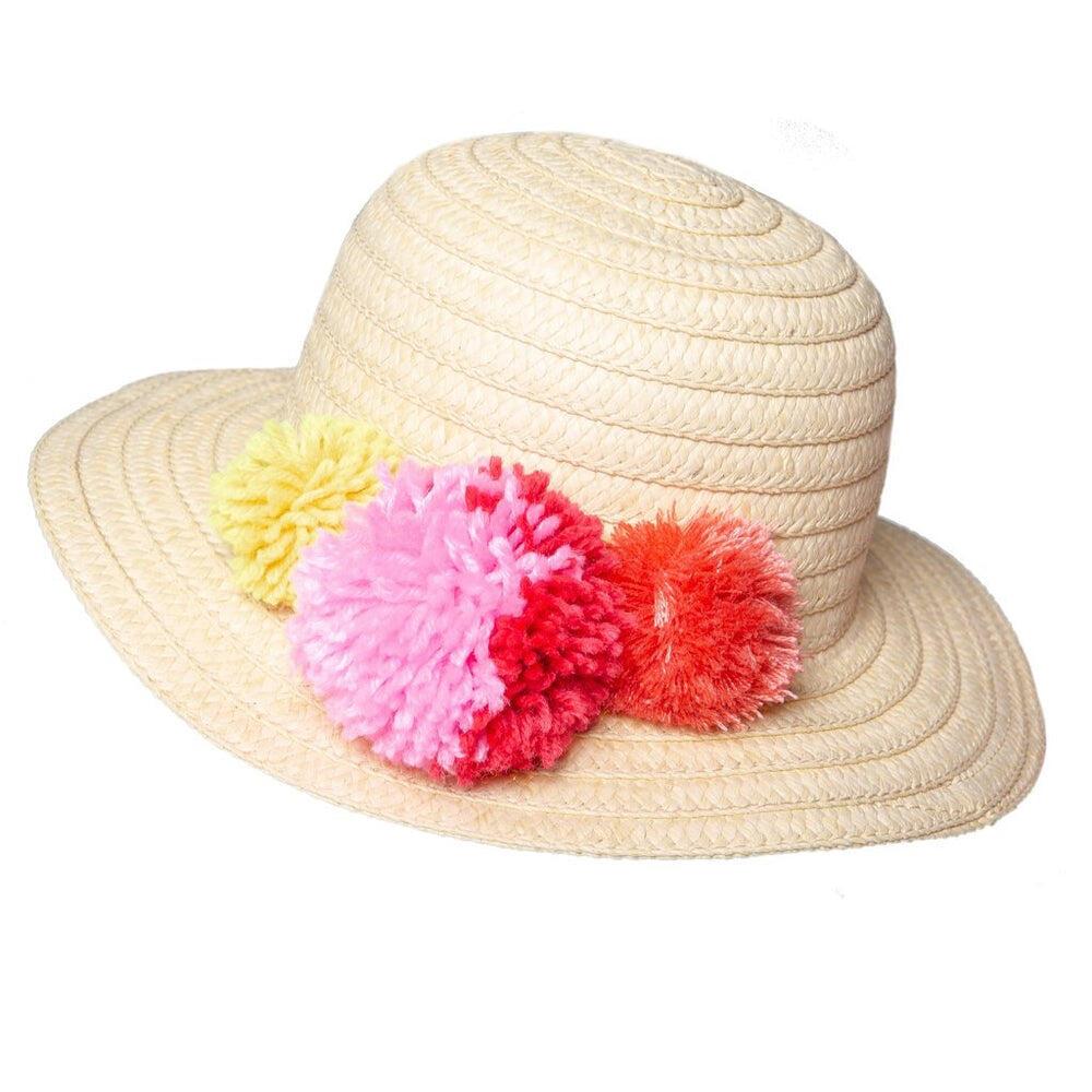 Rockahula Pom Pom Straw Hat