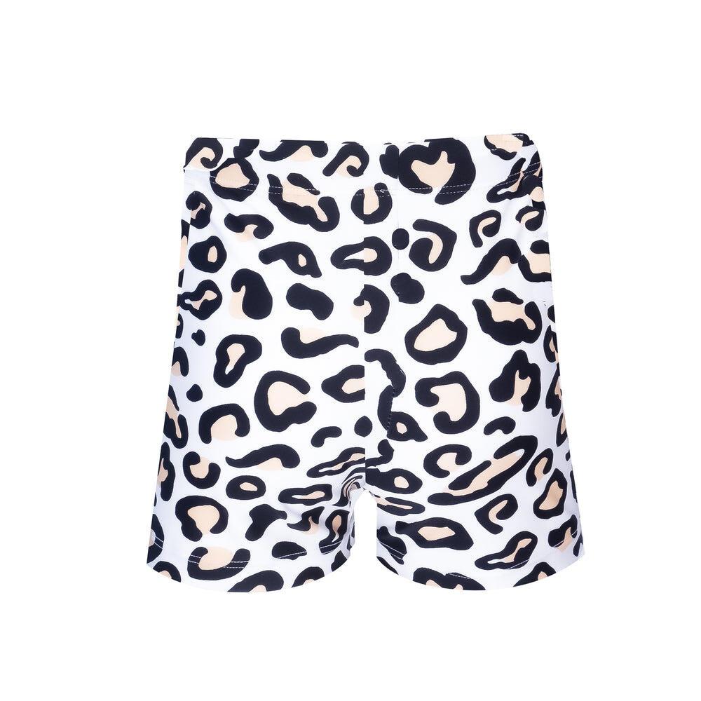 Mini Boys Hugh Trunks Safari Leopard