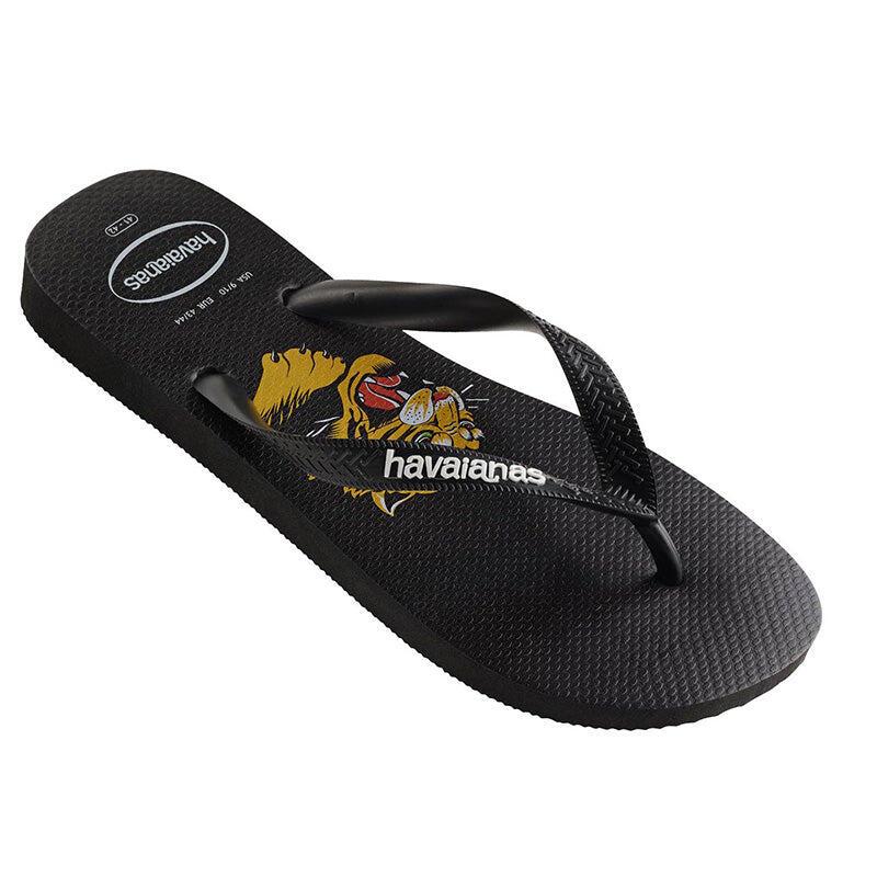 Kids Top Wild Flip Flops Black