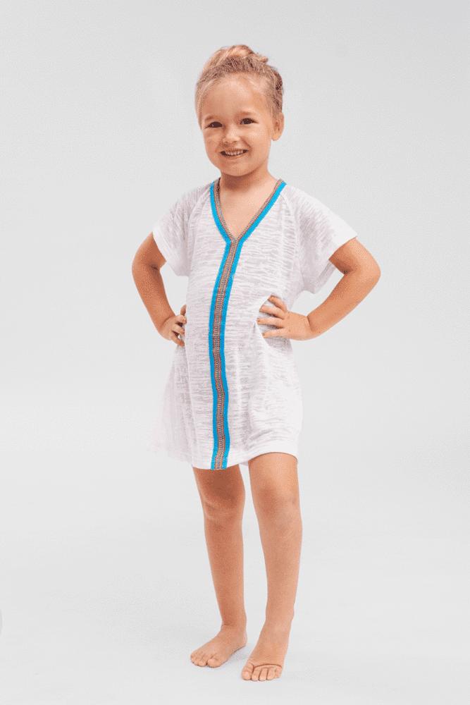 Kids Abaya White
