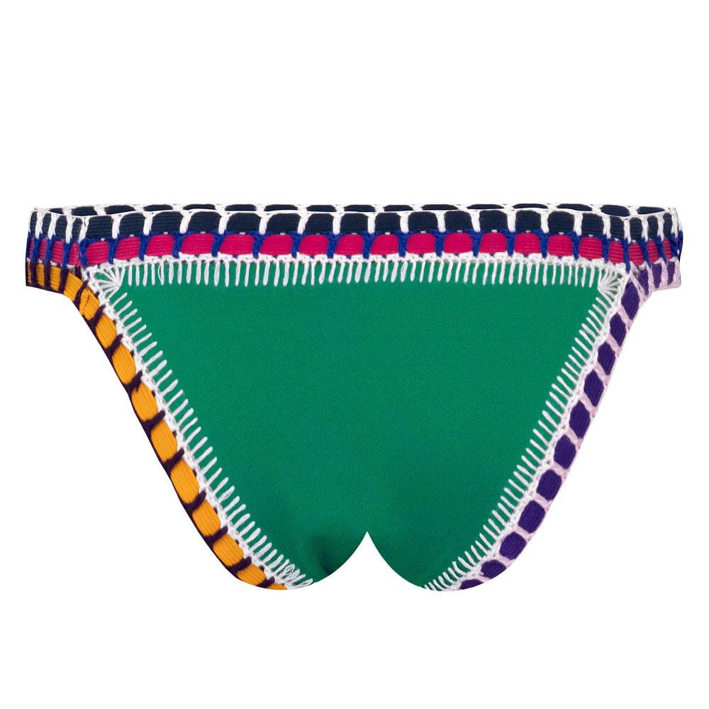 Clo Bikini Bottom Emerald