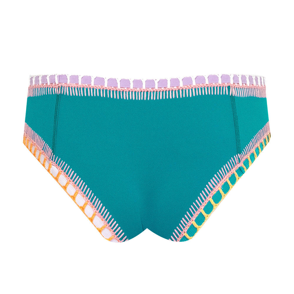 Liv Boyshort Bikini Bottom Jade