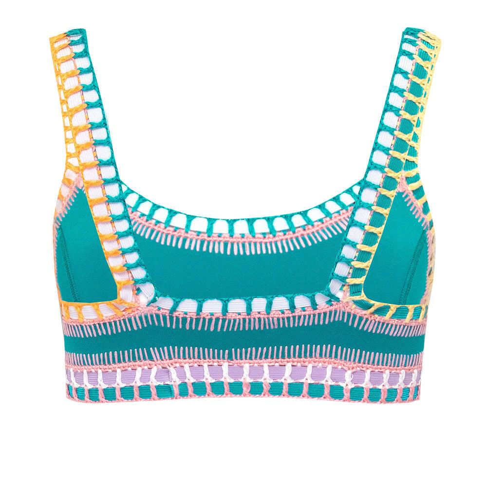 Liv Scoop Bikini Top Jade