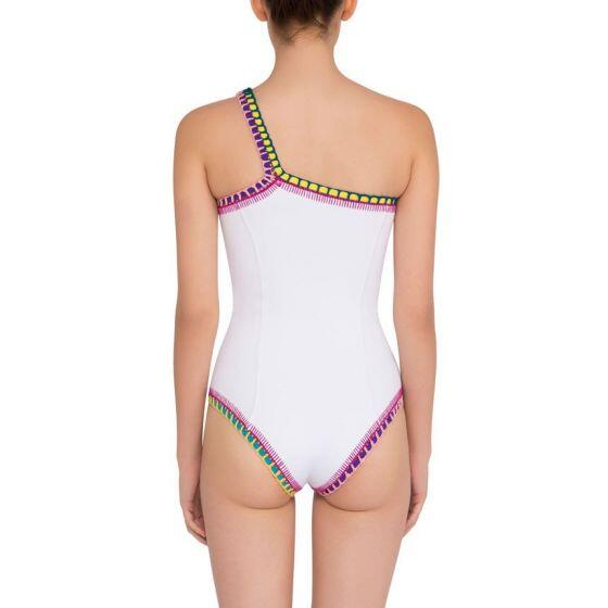 Kiini Yaz One Shoulder Maillot