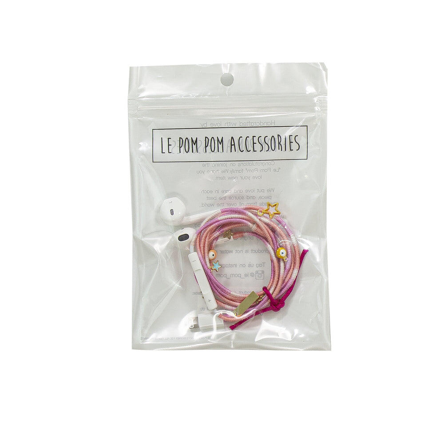 Ombre Pink Earphones