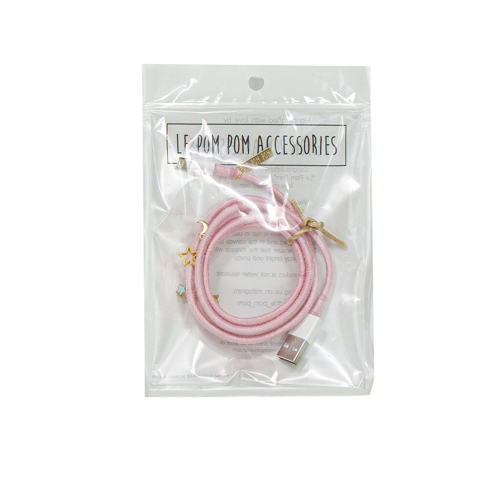 Pastel Pink Charger