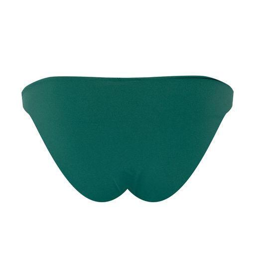 Hardware Embellished Bikini Bottom Green