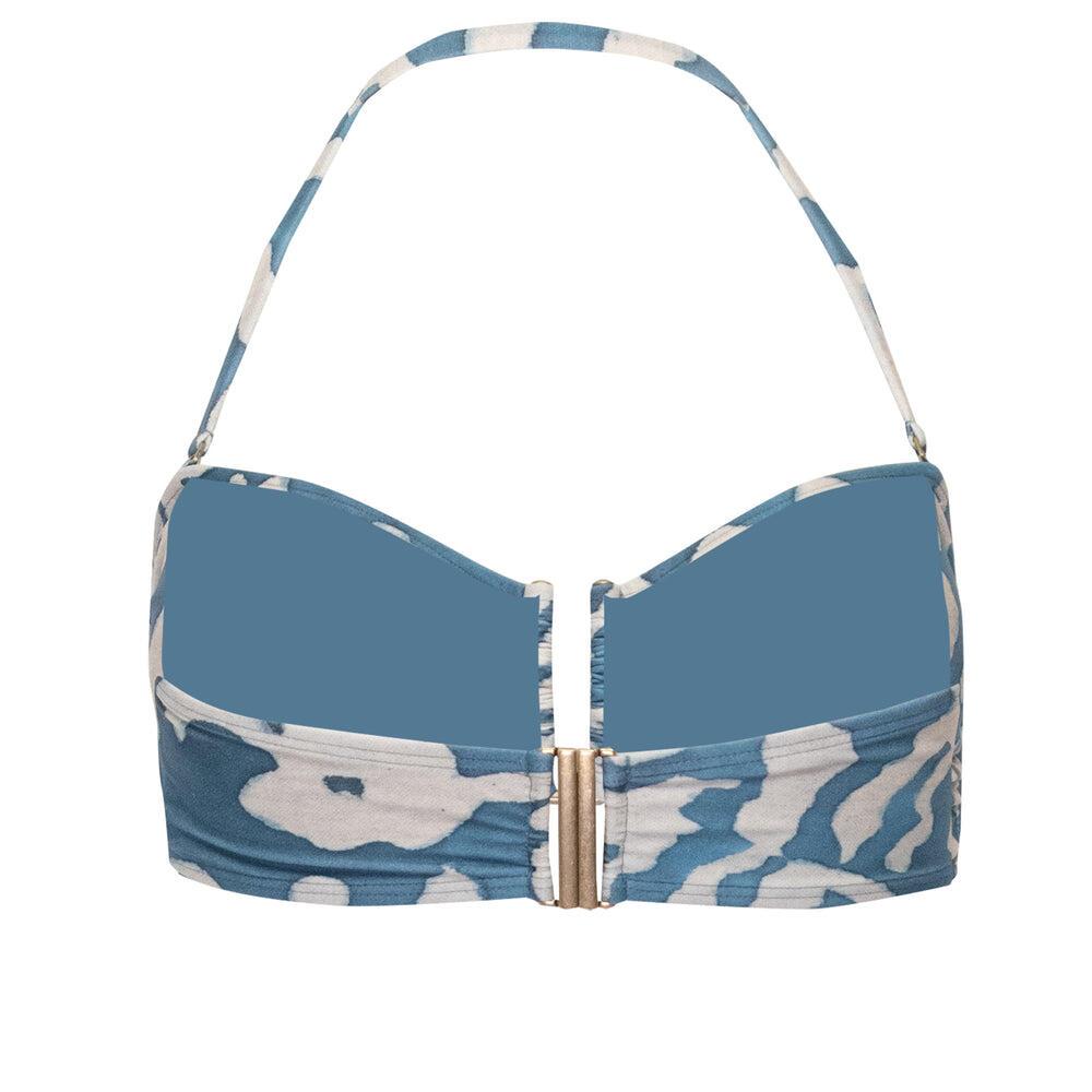 Otoman Drop Bandeau Bikini Top