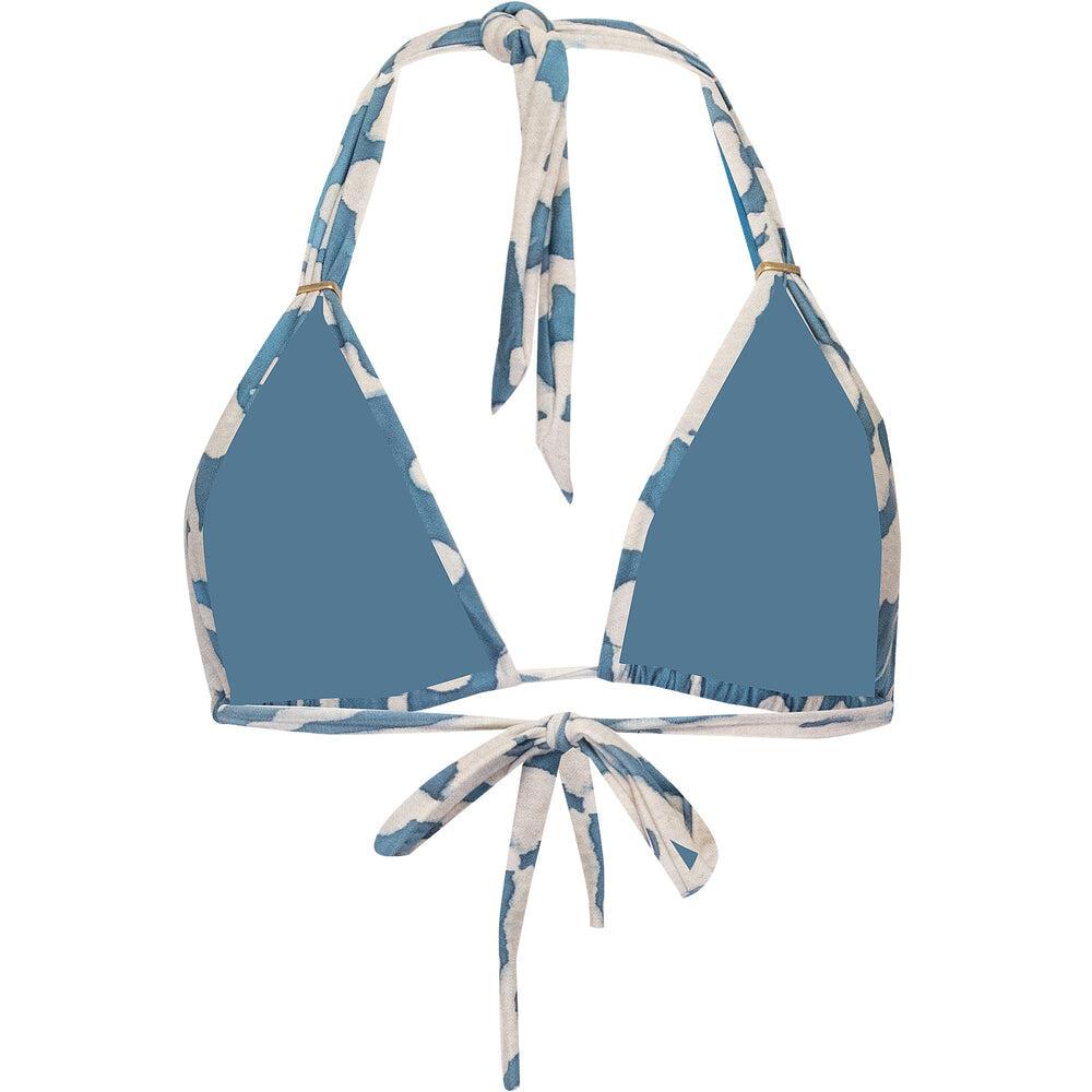 Otoman Halter Bikini Top