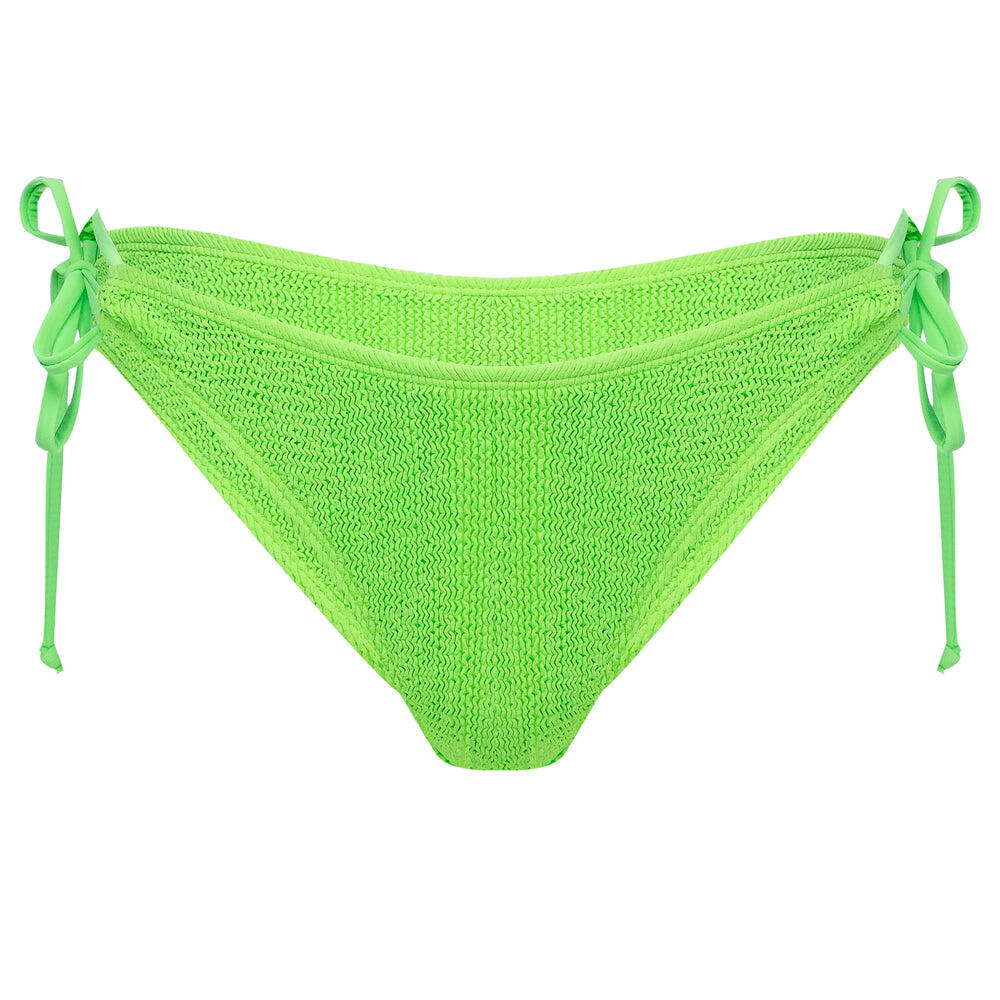 Jamaica Side Tie Bottoms LIME