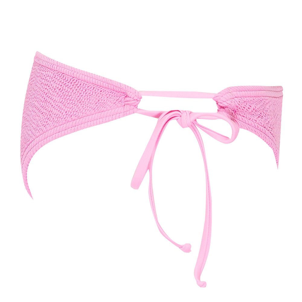 Jamaica Side Tie Bottoms Prism Pink