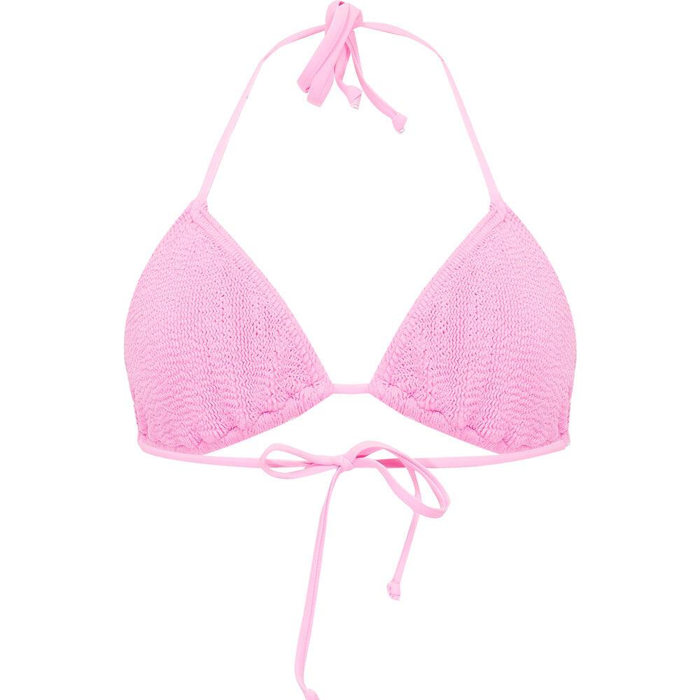 Jamaica Triangle Bikini Top Prism Pink