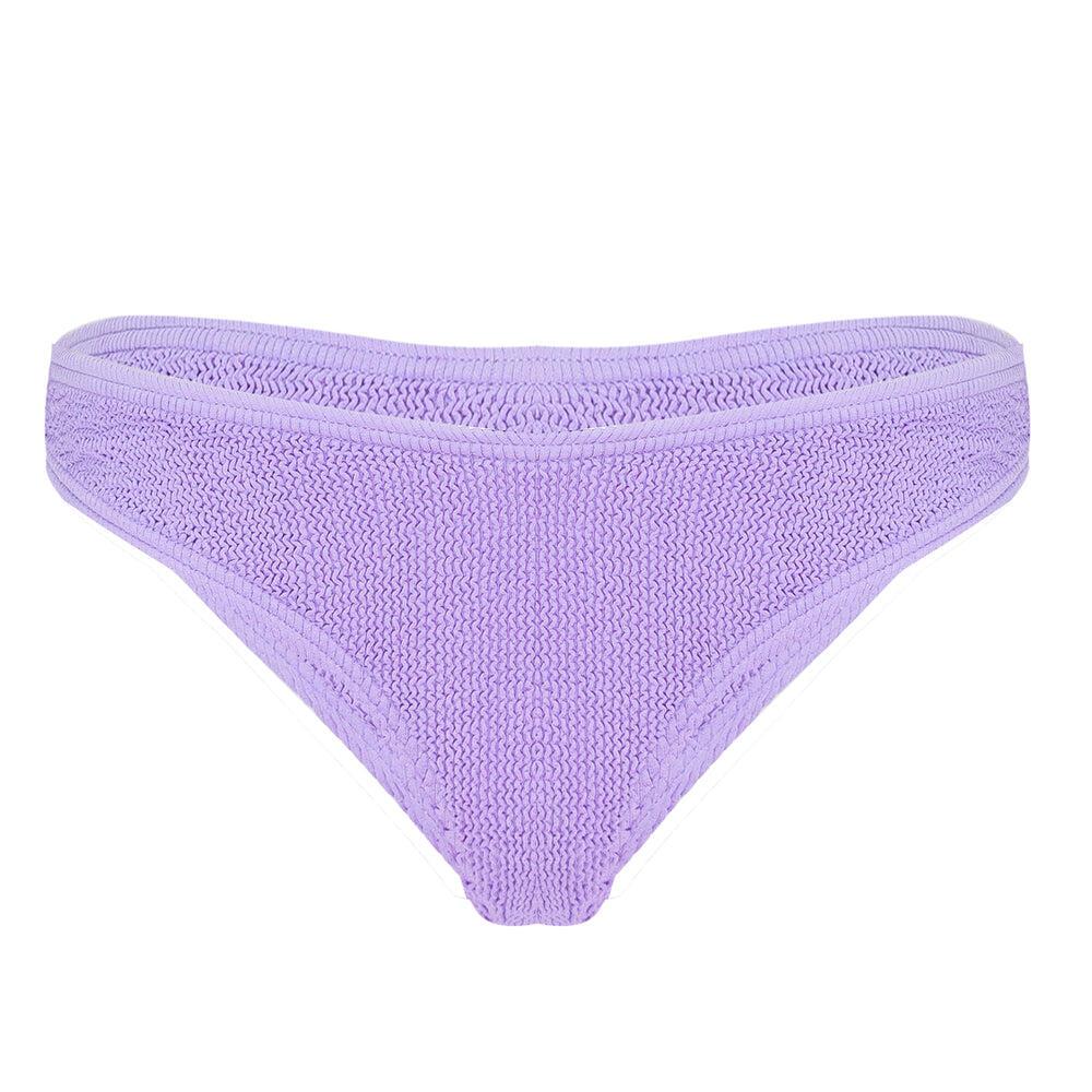 Sardinia Bikini Cheeky Bottoms Purple Rose