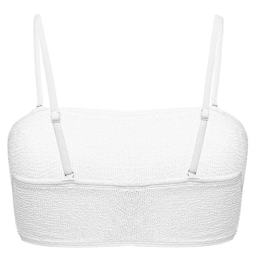 Turk & Caicos Bikini Top WHITE