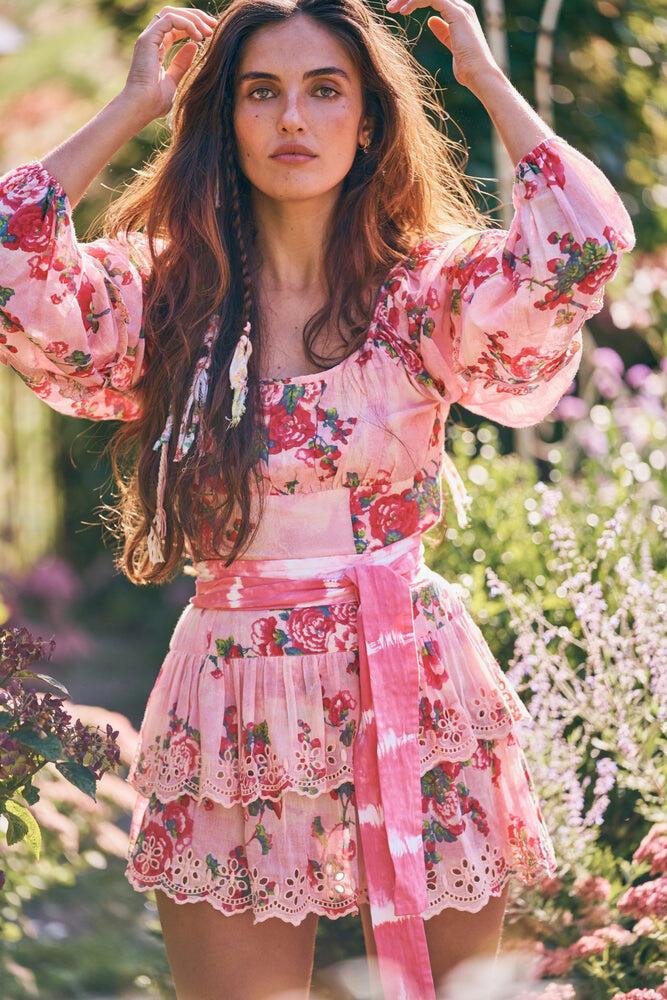 Ambrosia Dress Pink Desert