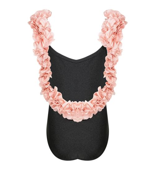 Kids After Party Black & Dusty Pink One Piece