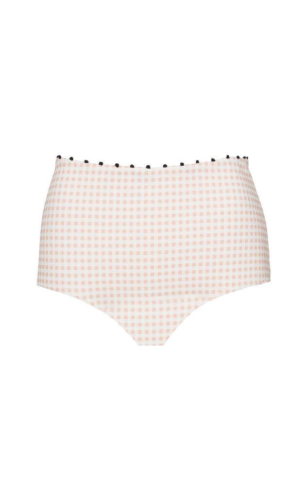 Corsica Bikini Bottom Midi Lemonade Gingham