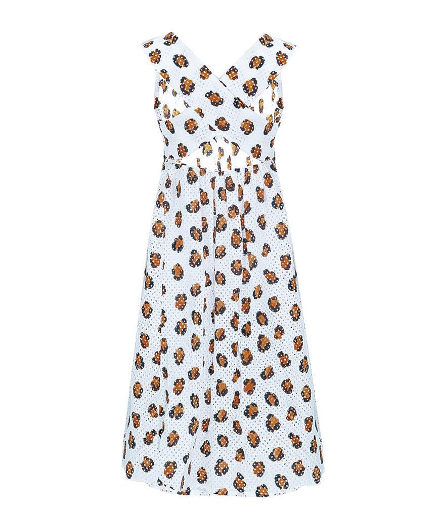 Bumby East Hampton Babydoll Dress in Leopard Print