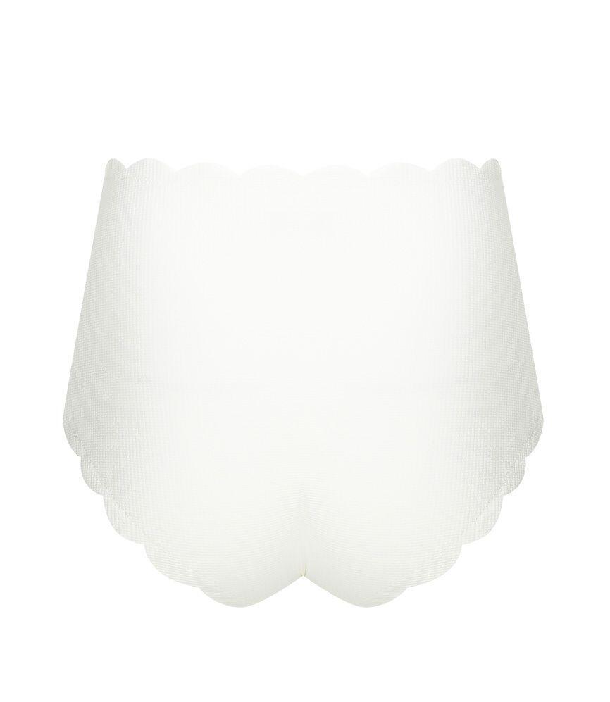 Marysia Riviera Bottom in Coconut/Black Ties