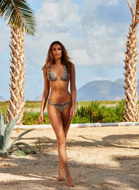 Grenada Halterneck Top Cheetah