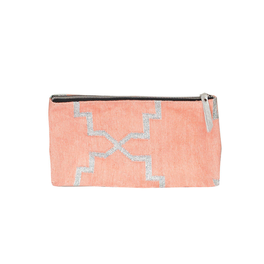 Pastel Pink Accessories Pouch
