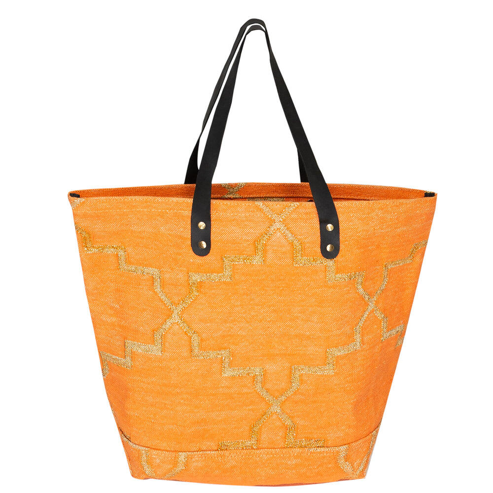 Apricot Tote Beach Bag