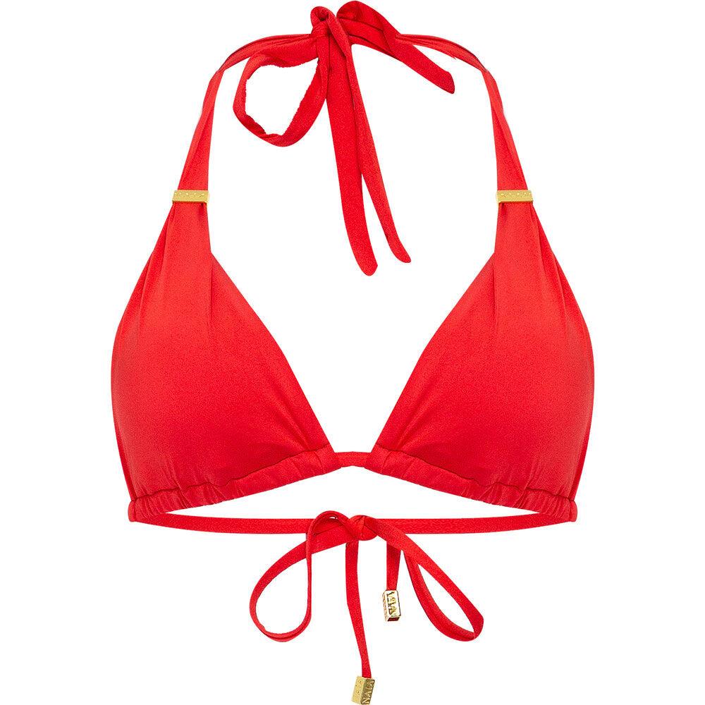 Maia Bikini Top Red