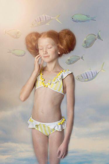 Nessi Byrd Barberry Ruffle Bikini