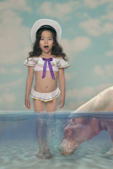 Nessi Byrd Wisteria Bow Bikini