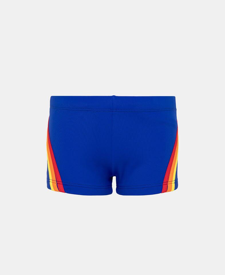 Boys Mini Beach Head Swim Trunk Vintage Sapphire