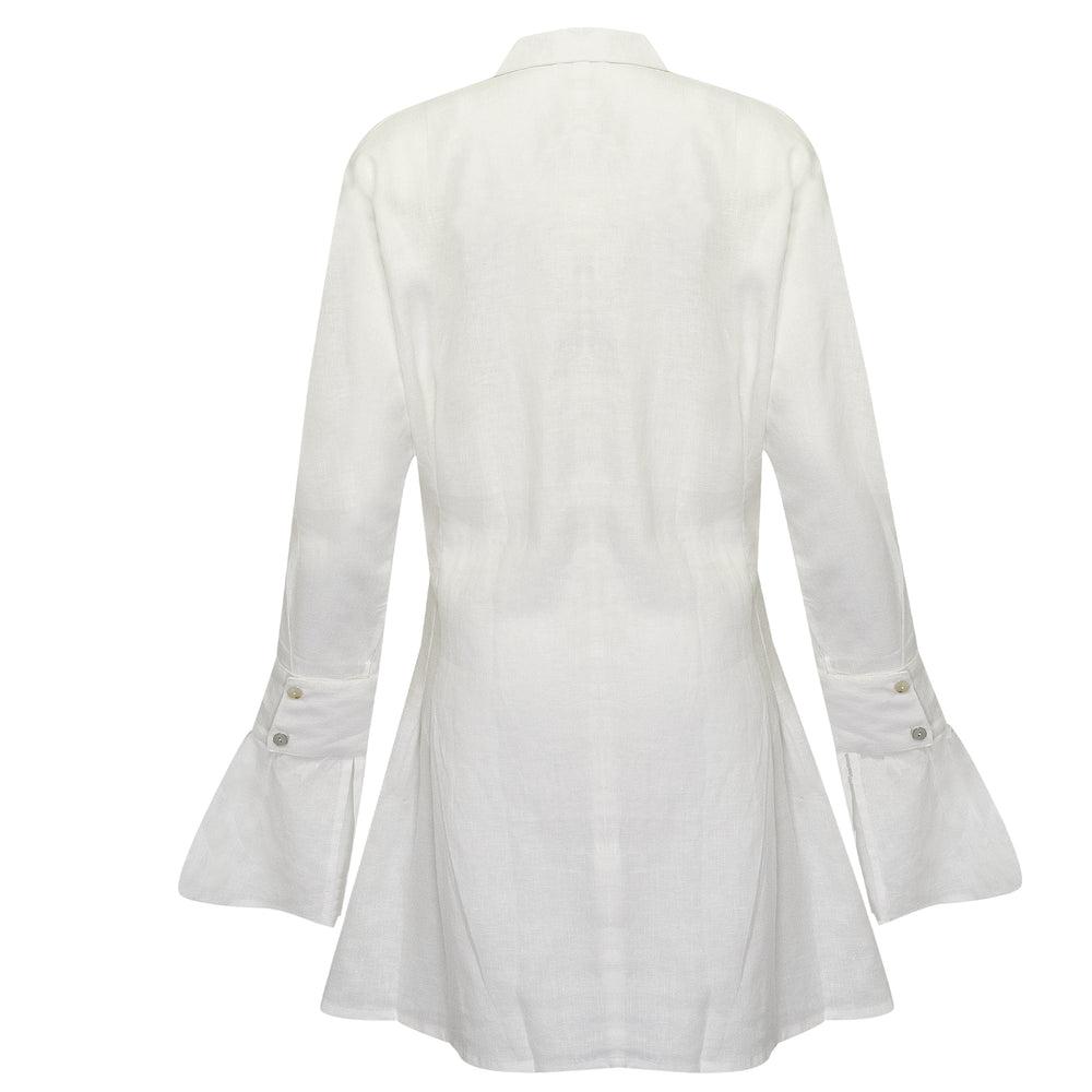 Mila Shirt Dress Off White