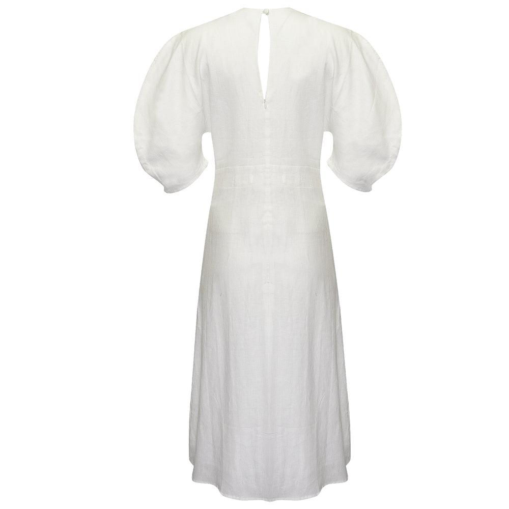 Nostalgia Dress Off White
