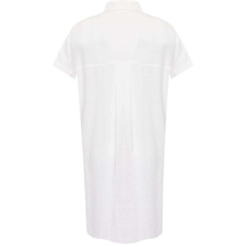 Sun Shirt Dress Long Off White