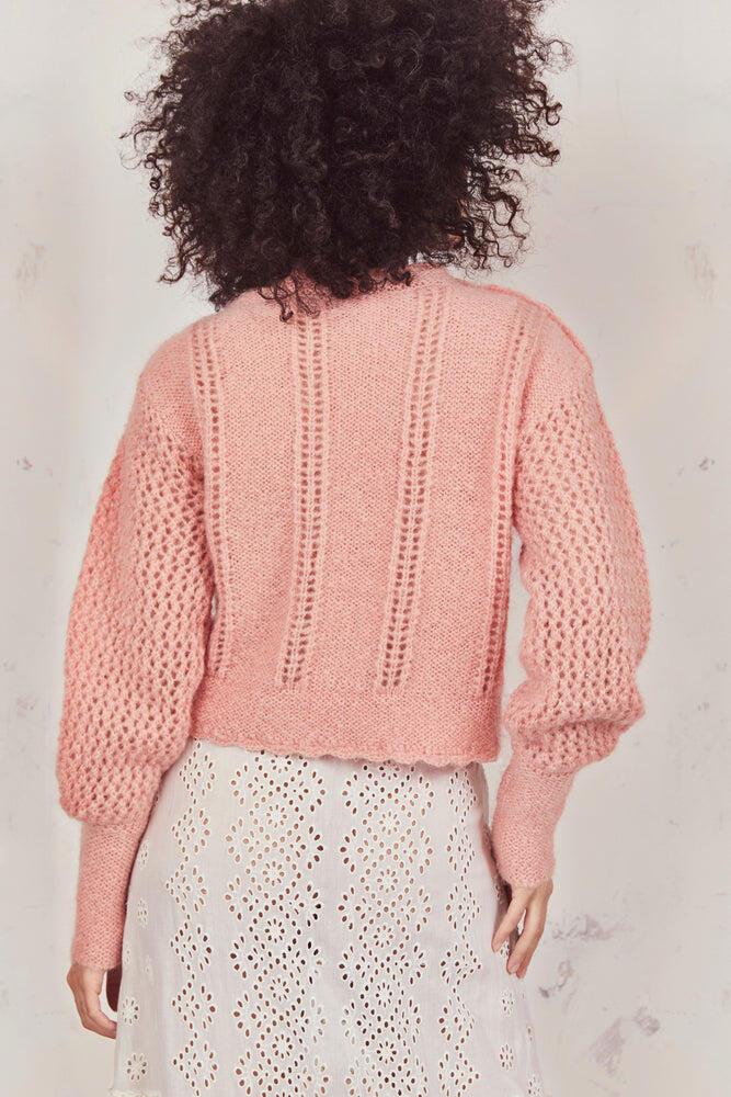Persephone Sweater Peach Fizz