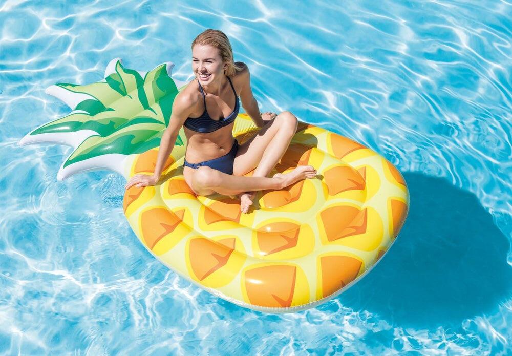 Pineapple Lilo Pool Float
