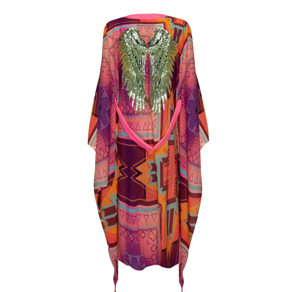 Pink Kimono Long