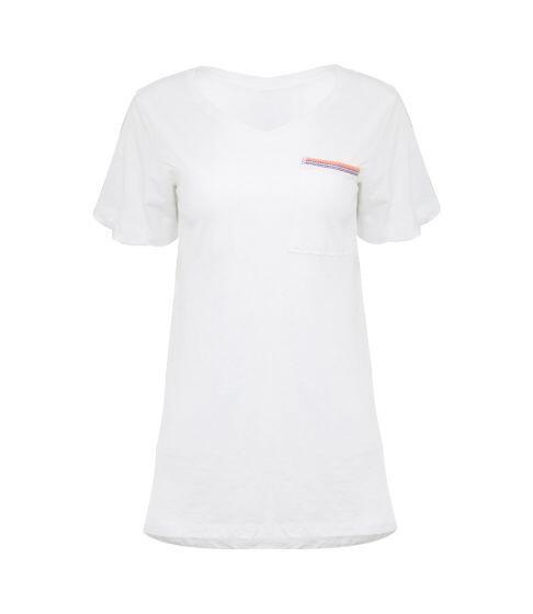 Pitusa Boyfriend T-Shirt White