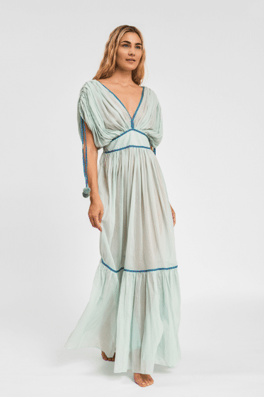 Pitusa Clara Dress Pale Blue