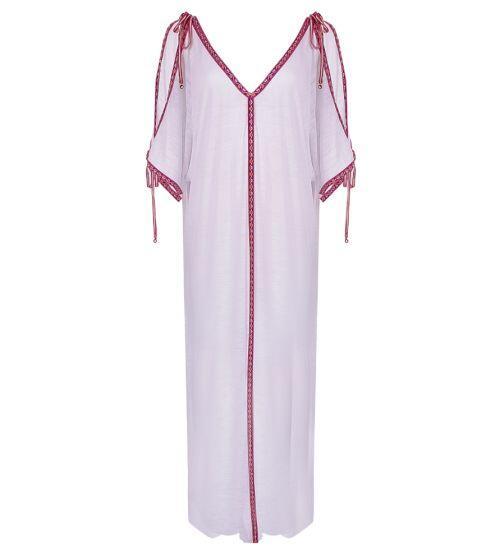Pitusa Inca Ottoman Dress White