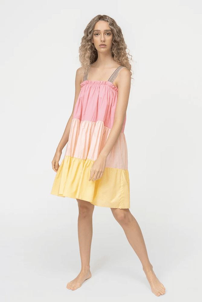 Lea Tea Dress Pastel
