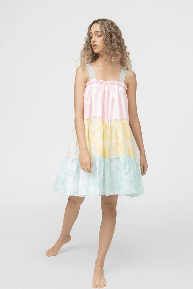 Lea Tea Dress Tie Dye