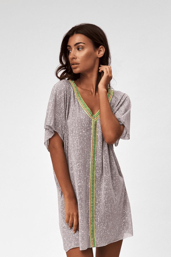 Mini Abaya Grey