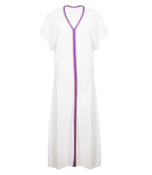 Pitusa Pima Inca Abaya White