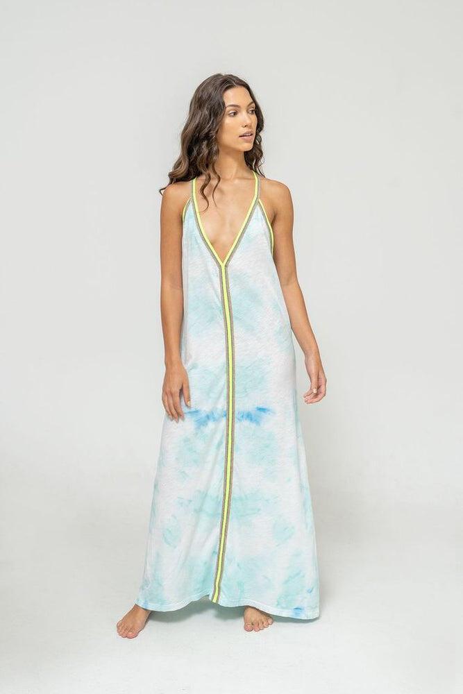 Tie Dye Sundress Light Blue